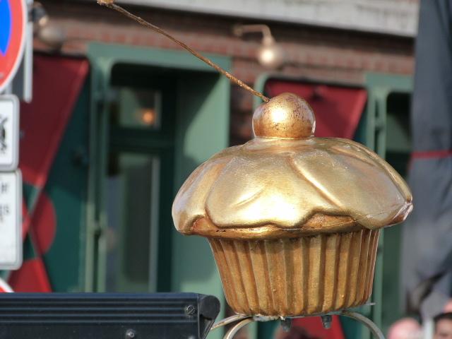Cupcake gold Fischmarkt