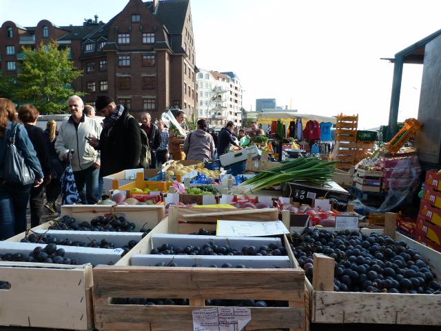 Frische Ware Fischmarkt
