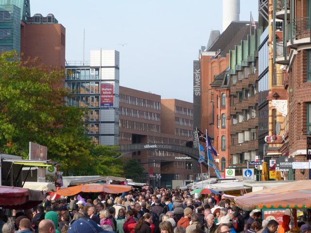 Große Elbstraße Fischmarkt