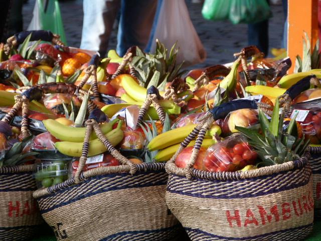 Obstkoerbe 3 Hamburg Fischmarkt
