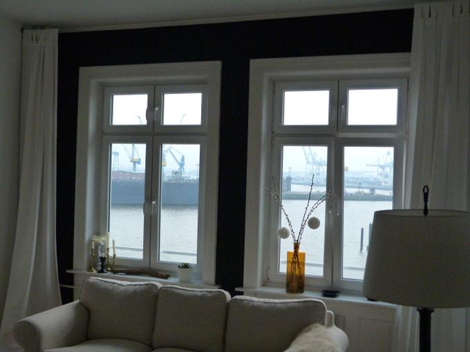 Wohnzimmerfenster seitlich