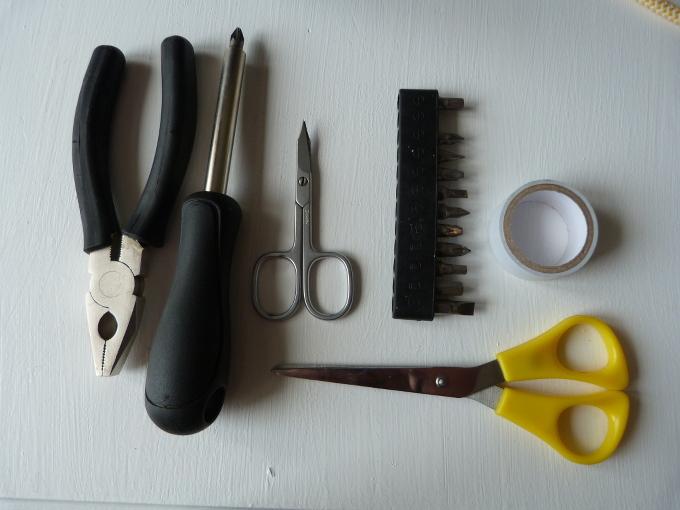 Werkzeug DIY lampen umbau