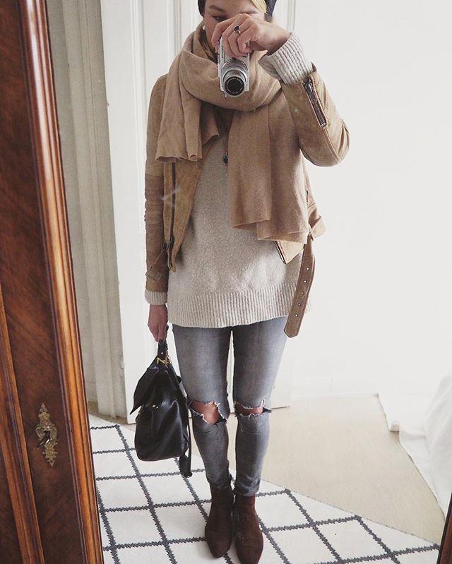 Ich weigere mich noch meine Wintermäntel aus dem Schrank zu holen  Mit dickem Pulli und Schal geht das doch auch irgendwie  Schichtenlook und so... ️
