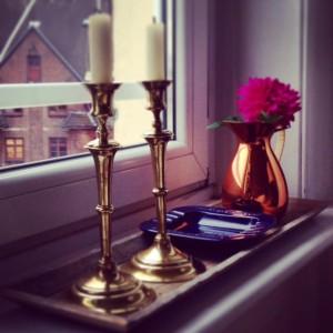 Flohmarkt Fund Kerzenleuchter