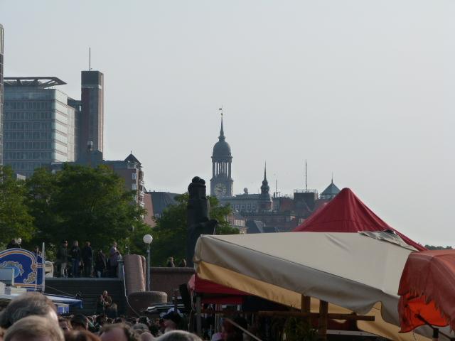 Blick Michel Fischmarkt
