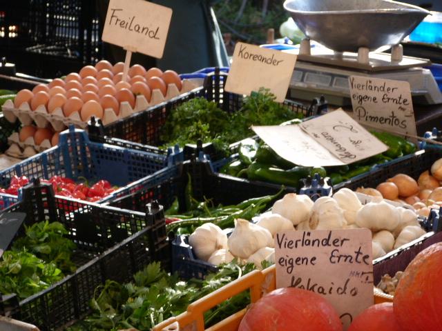 Frische Eier Lebensmittel Fischmarkt