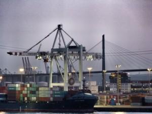 Hafen Abend 2 Hamburg