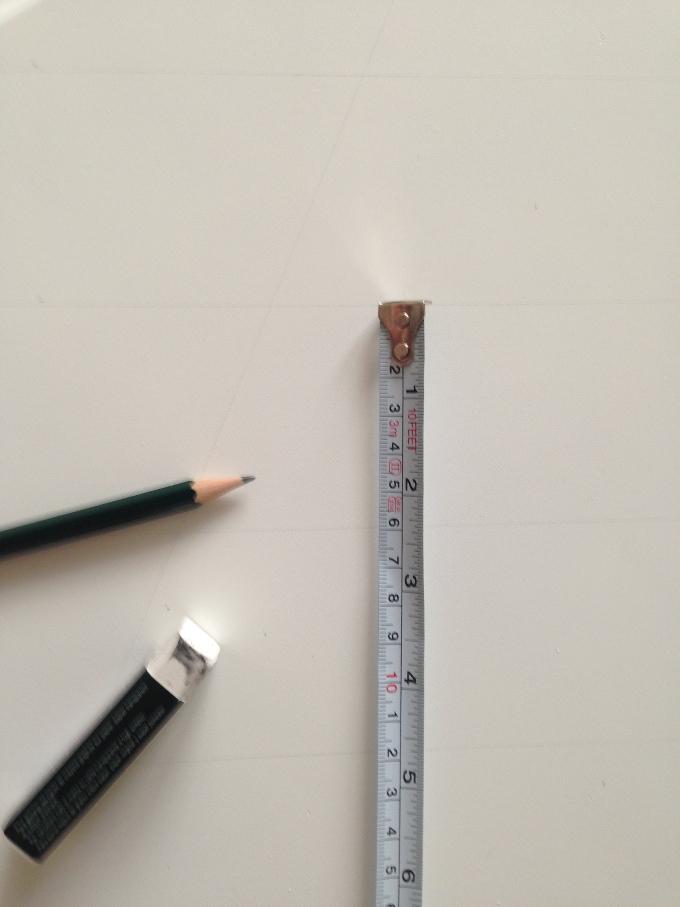 Harlekin Muster Ausmessen