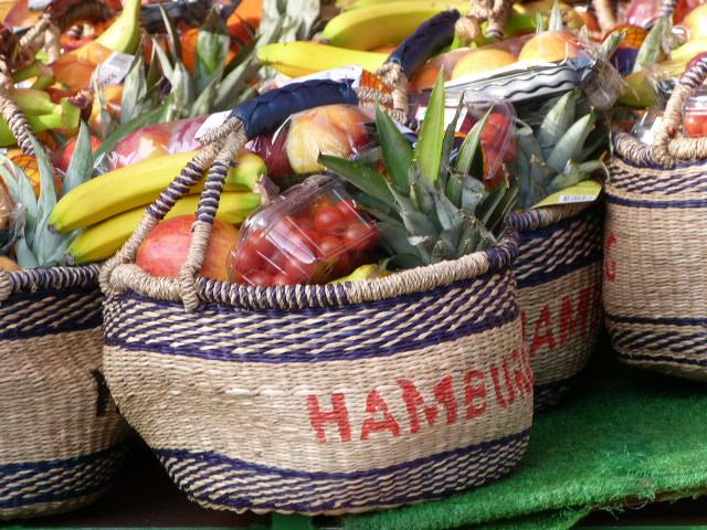 Obstkoerbe 2 Hamburg Fischmarkt
