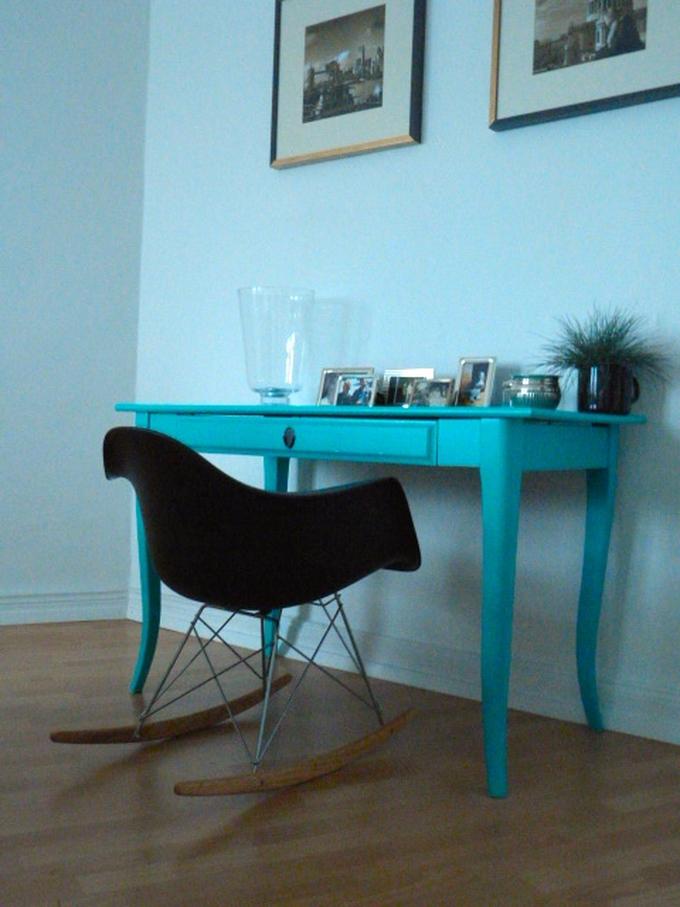 Eames Chair Leksvik Schreibtisch