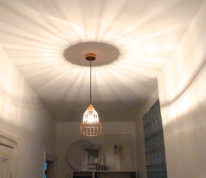 Kupferlampe Pendellampe Lichtschein