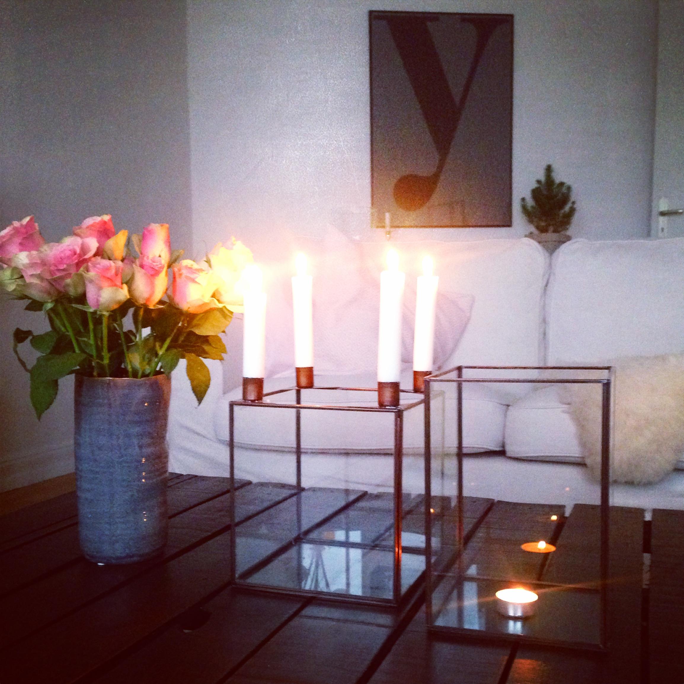 vierter Advent Kerzen