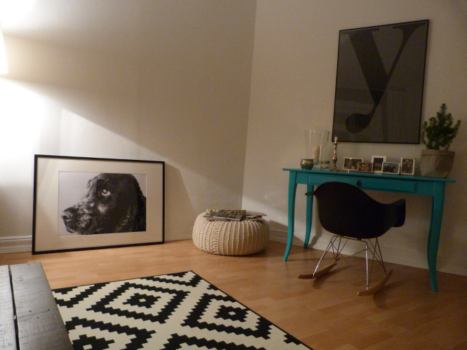 Wohnzimmer neu dekoriert