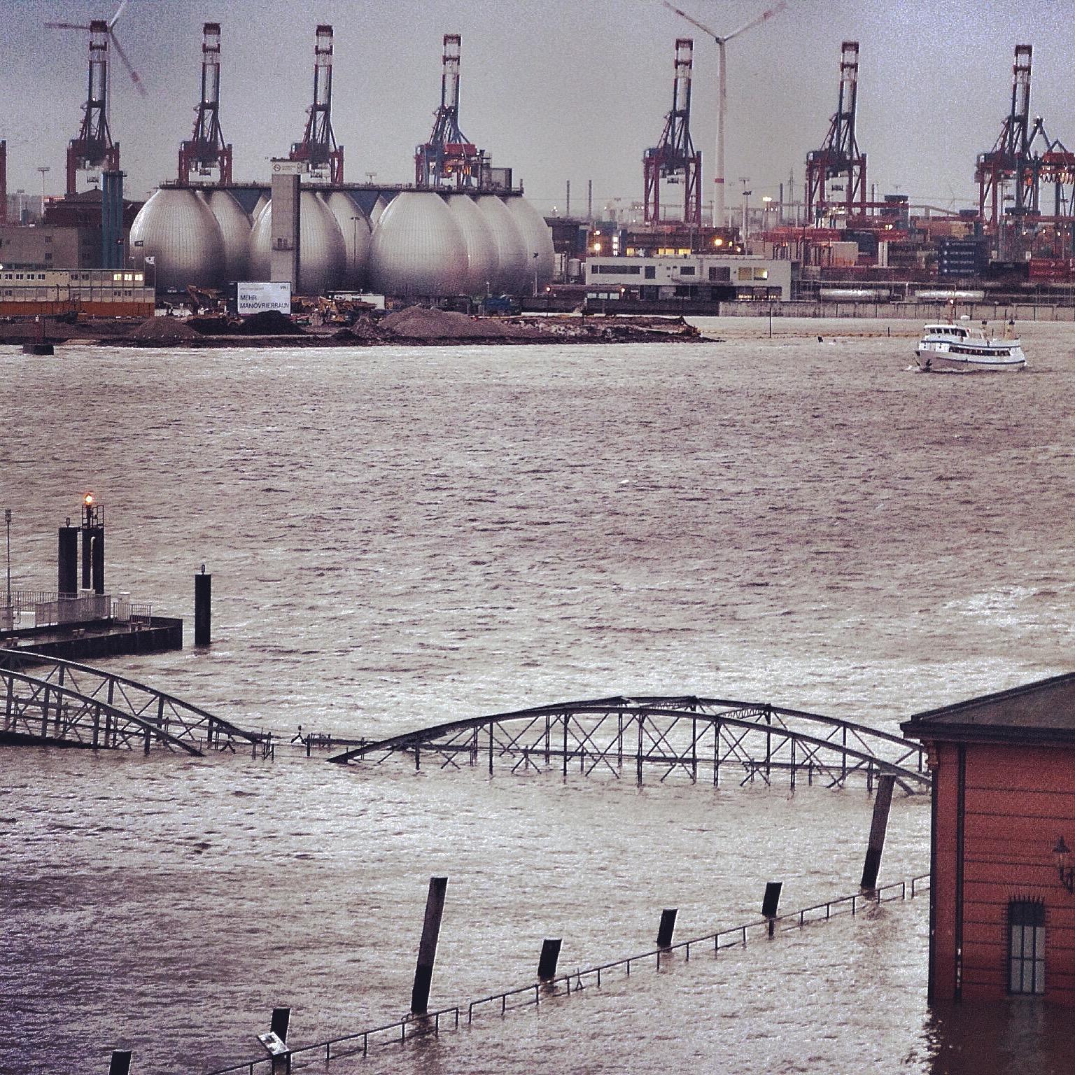 Hochwasser Fischmarkt 2015
