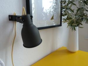 Ikea Hektor DIY textilkabel fertig nah