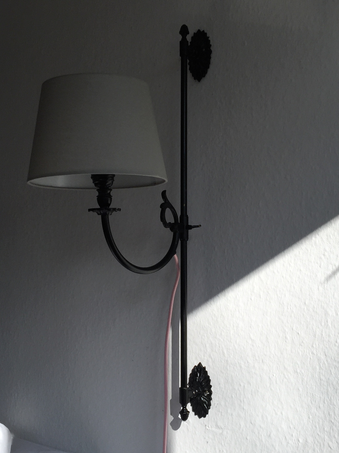 Wandlampen Nahaufnahme