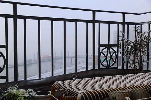 Winter is here ️ Und das Nebelhorn war auch mal wieder am Start heute Nacht...Aber es sieht ja auch ganz friedlich so aus - gebe ich ja zu  Guten Morgen ️