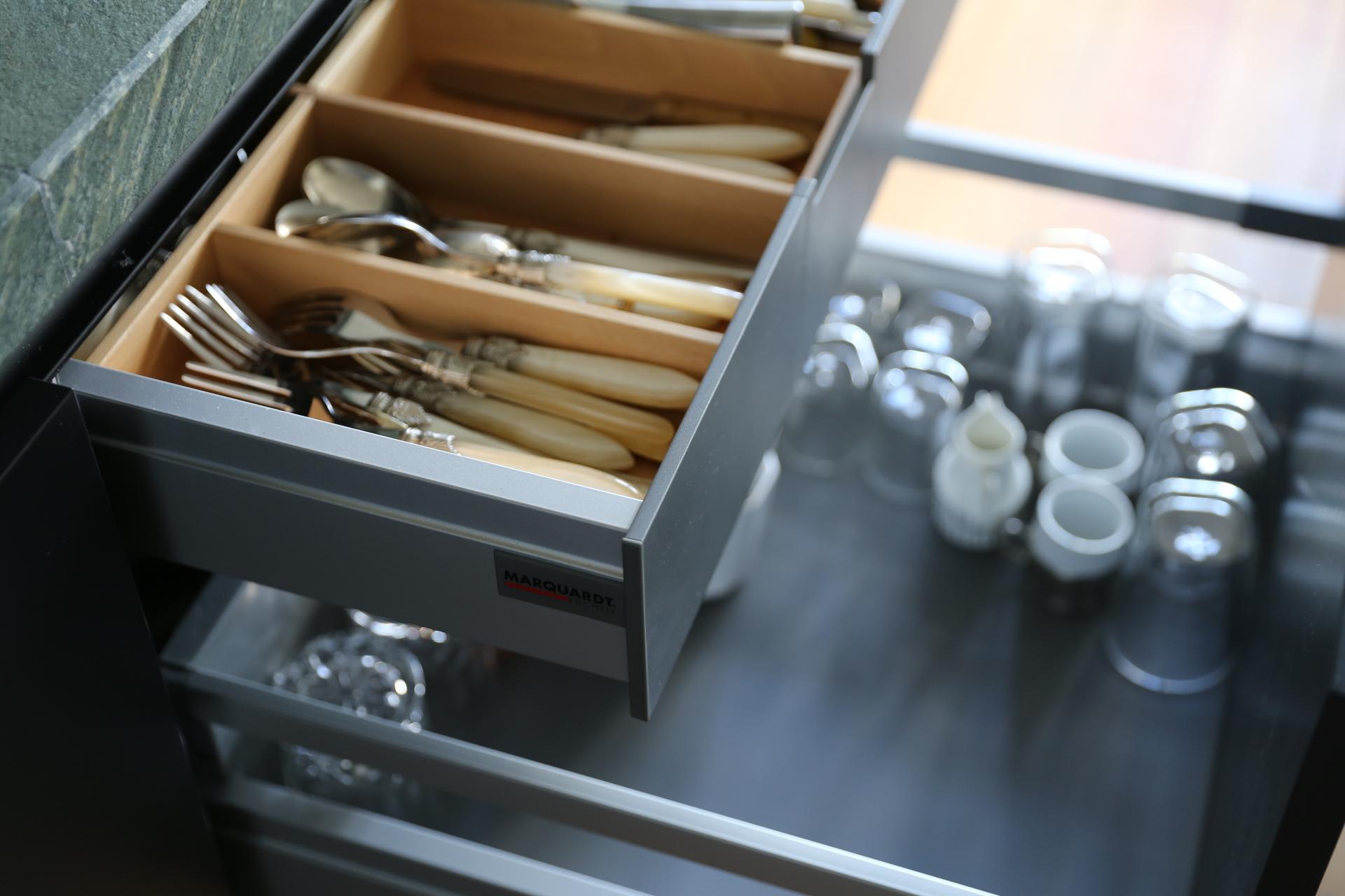 Innenaufteilung Küchenschränke