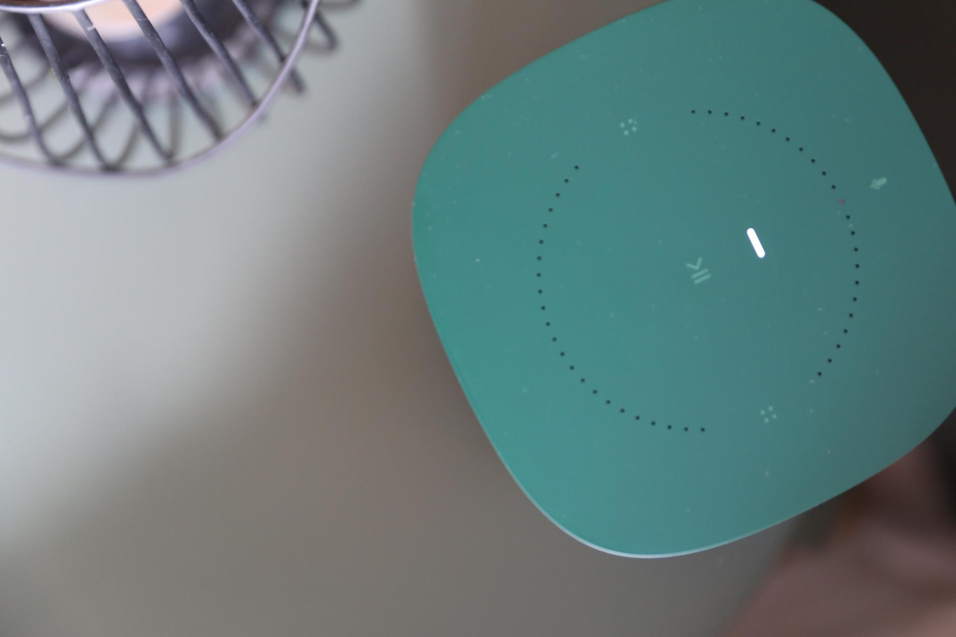 Detail Sonos Limited Edition HAY oben