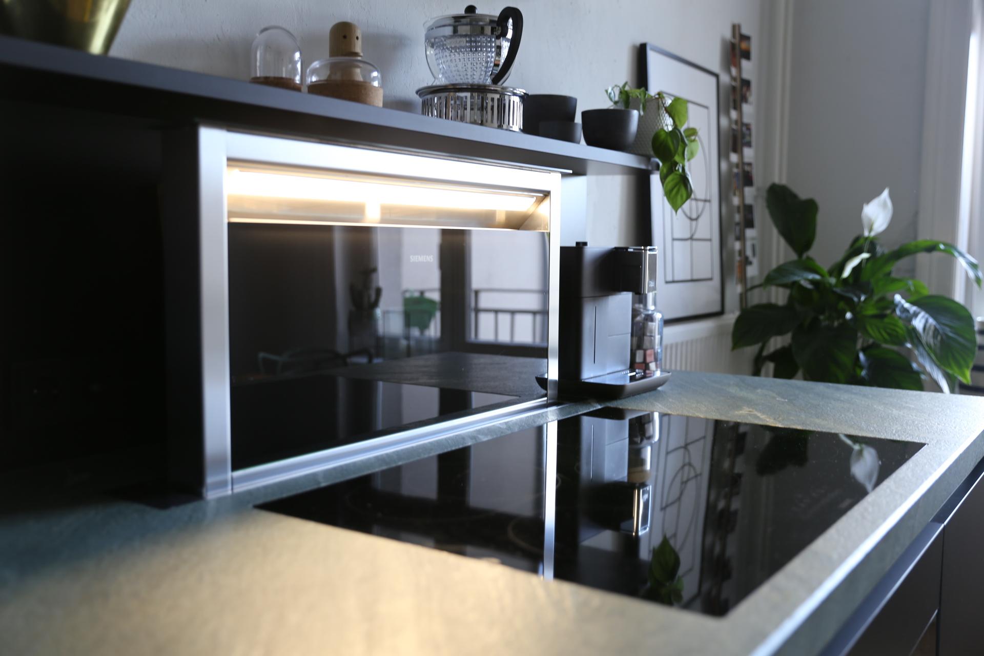 Tischlüftung Küche Dunstabzug